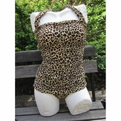 Esther Williams Classic Sheath Leopard