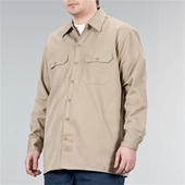 Dickies Longsleeve work shirt khaki