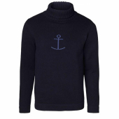 Jumperfabriken Haddock turtleneck Marine