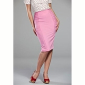 Emmy Design The curvy wiggle skirt candy pink