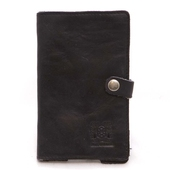 Nic & Mel iPhone wallet black