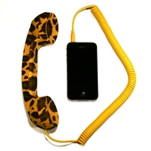 POP Phone Handset Leopard