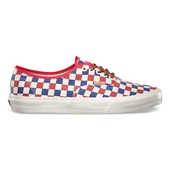 Vans Authentic CA True Blue/Red