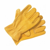 Dickies Lined leather gloves Tan