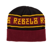 Rebel8 Alpine beanie maroon, one size