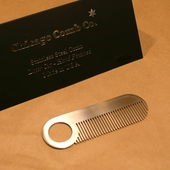Chicago Comb no. 2 Mustache stålkam