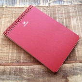 Postalco Signal Red Notebook A6 Pingraph