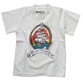 Sonny Rock The Sea Kids Tee Offwhite