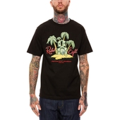 Rebel8 Permanent Vacation Tee Black