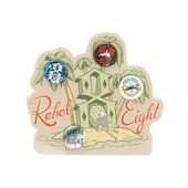 Rebel8 Summer button pack