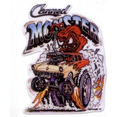Canned Monster Decal