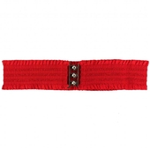 Collectif Sarah Retro Belt Red