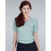 Emmy Design The hepcat cableknit top mint