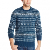 Penguin Luxury Lambswool Fairisle Jaquard Sweater