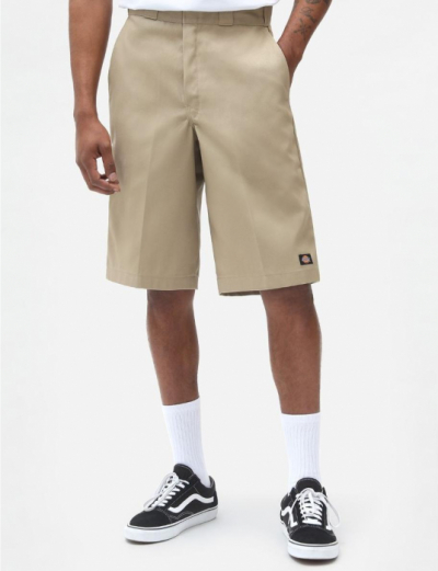 Dickies 13 inch Multi-Pocket Work Shorts Khaki i gruppen Herr / Shorts hos Sivletto - Skylark AB (w10486)