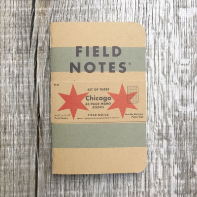 Field Notes Chicago 3-Pack i gruppen Herr / Accessoarer hos Sivletto - Skylark AB (w11822)