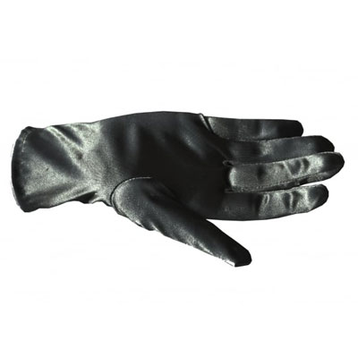 Collectif Satin Bracelet Length Gloves black i gruppen Rea! / Dam / Övrigt hos Sivletto - Skylark AB (w12315)