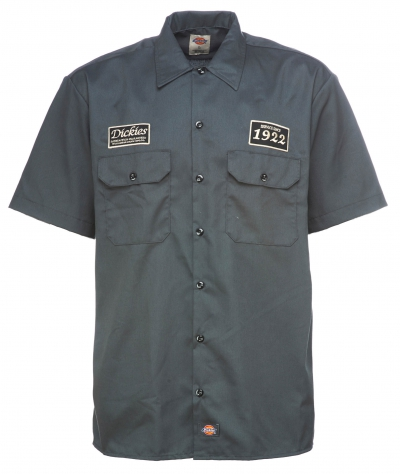 Dickies North Irwin Shirt Charcoal Grey i gruppen  hos Sivletto - Skylark AB (w12744)