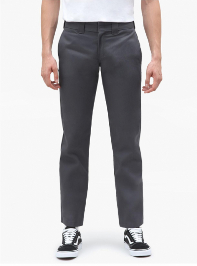 Dickies 873 Slim Straight Work Pant Charcoal Grey i gruppen Byxor hos Sivletto - Skylark AB (w12759)