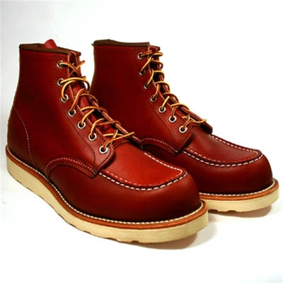 Red Wing Style No. 8131 Classic Moc Oro Russet i gruppen Herr / Skor hos Sivletto (w1695)