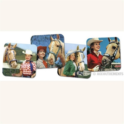 Accoutrements Cowgirl coasters i gruppen Bostad & prylar / Kök & ätbart hos Sivletto (w37)
