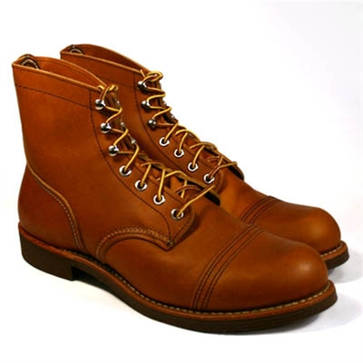 Red Wing Style No. 8112 Iron Ranger Oro Russet i gruppen Made in USA hos Sivletto (w4178)