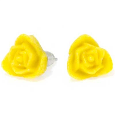 Yellow rose small i gruppen Dam / Smycken hos Sivletto (w4510)