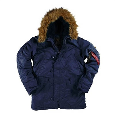Alpha Industries Inc. N-3B Replica Blue i gruppen Herr / Jackor hos Sivletto (w5537)