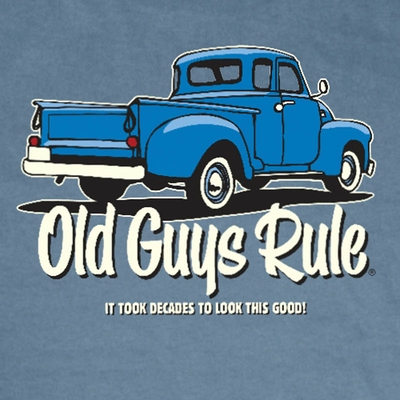 Old Guys Rule It Took Decades Tee  i gruppen Herr / T-shirts hos Sivletto - Skylark AB (w6756)