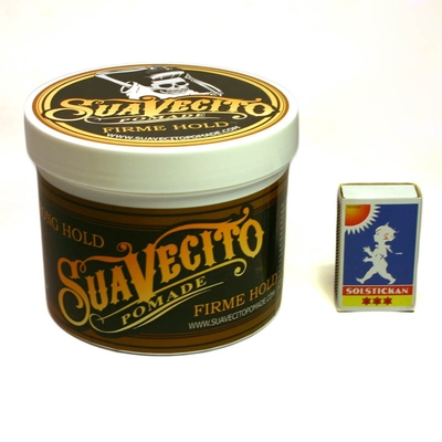 Suavecito Firme Hold big tub i gruppen Grooming / Pomada / Big tubs hos Sivletto - Skylark AB (w6934)