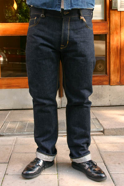 Pike Brothers 1958 Roamer pant 23oz i gruppen Denim / Jeans hos Sivletto (w7195)