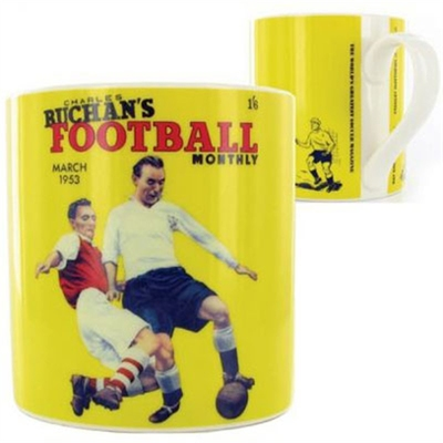 Wild & Wolf Football Monthly Mug Yellow i gruppen Bostad & prylar / K�k & �tbart hos Sivletto (w7386)