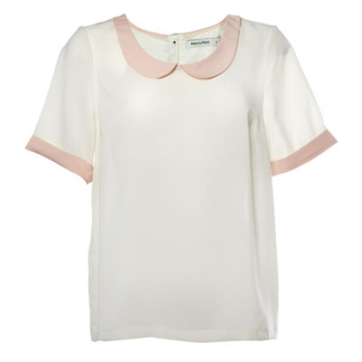 Rules by Mary Lola offwhite Blouse i gruppen Udda-disk / Dam / Toppar etc hos Sivletto (w7729)