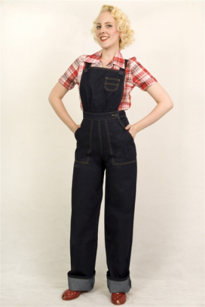 Freddies of Pinewood Dungaree Dolls i gruppen Denim / Jeans hos Sivletto (w8104)