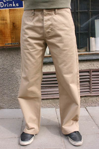 Pike Brothers 1932 Engineer Pant Khaki i gruppen Herr / Slacks hos Sivletto (w9195)