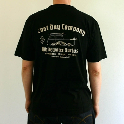 Whitewater Surfers Tee Black i gruppen Udda-disk / Herr / T-shirts hos Sivletto (w9484)