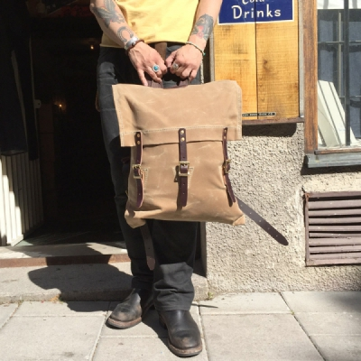 Duluth Pack Custom Made Waxed Canvas Pack i gruppen Unionville / Accessoarer hos Sivletto (w9501)
