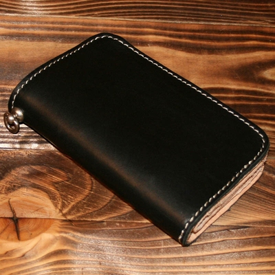 Pike Brothers 1965 Rider Wallet Black i gruppen Denim / Accessoarer hos Sivletto (w9502)