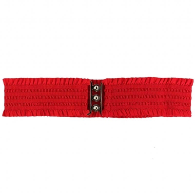 Collectif Sarah Retro Belt Red i gruppen Dam / Accessoarer hos Sivletto (w9641)