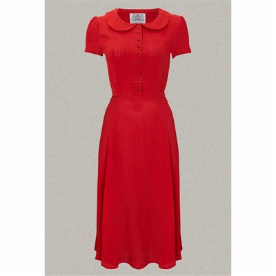 The Seamstress of Bloomsbury Dorothy dress red i gruppen Dam / Klänningar hos Sivletto (w9785)