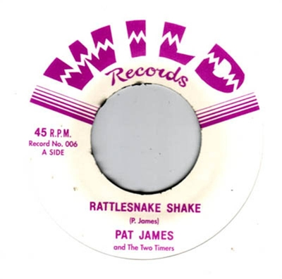 Pat James and The Two Timers - Rattlesnake Shake i gruppen Övrigt / Musik / Vinyl hos Sivletto (wr45-006)