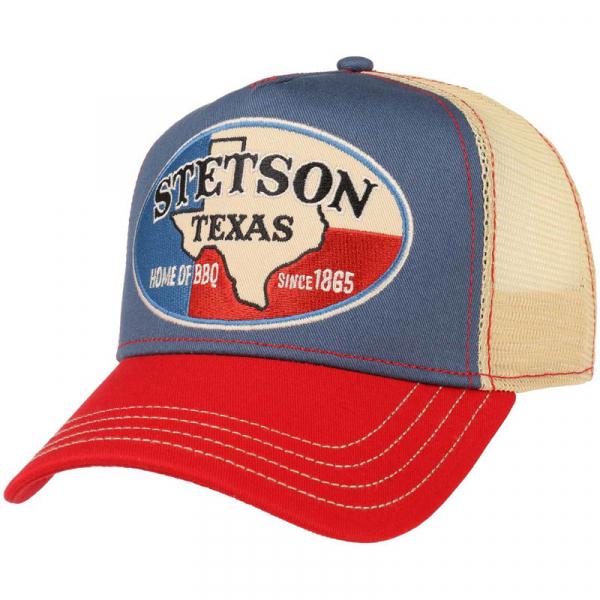 Stetson Trucker Cap Texas Home of BBQ 832beecaabb22