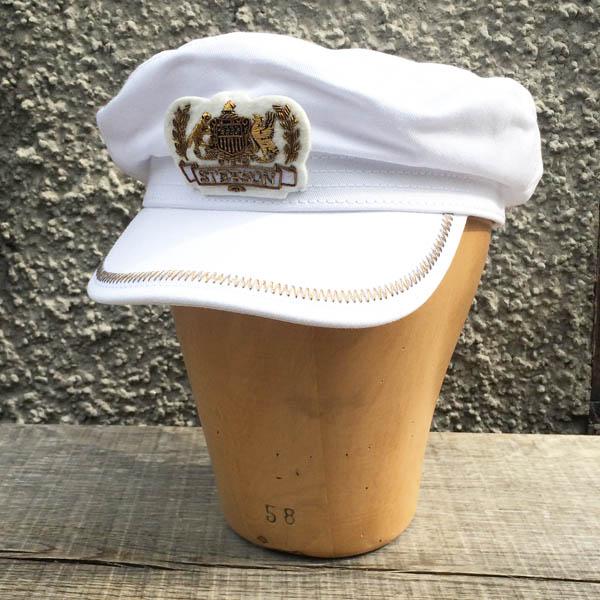 Stetson Allenport Cotton White i gruppen Herr   Huvudbonader   Vegamössor  skepparmössor hos Sivletto - 586e54a1c75f4