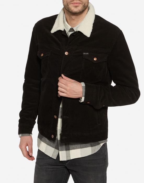 Wrangler Sherpa jacket black | Sivletto
