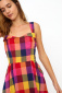 Emily and Fin Pippa dress sunset plaid