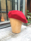 Seeberger Beret Wine Red
