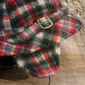 Vintage Childrens Hat Checked